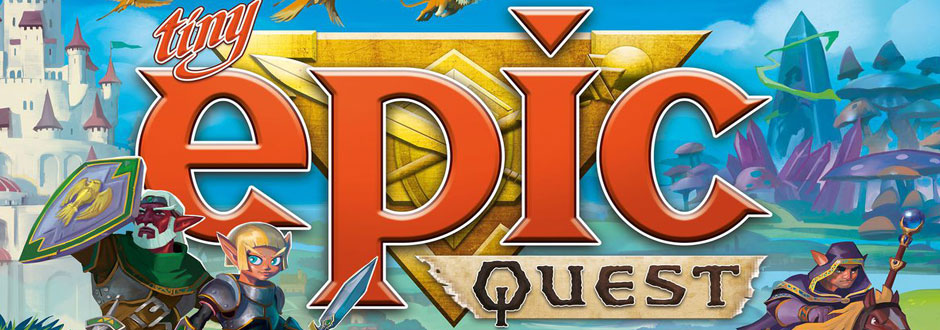 How to Play – Tiny Epic Quest