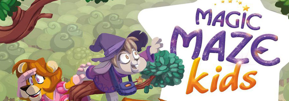 Magic Maze Kids Review