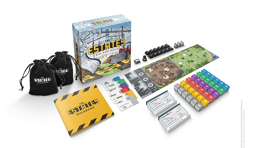 The Estates Review - Game Components