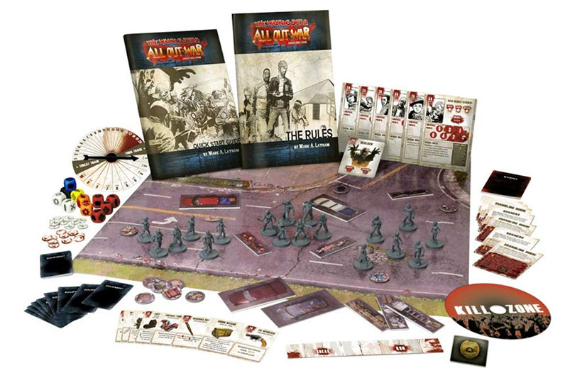 The Walking Dead: All Out War - Game Components