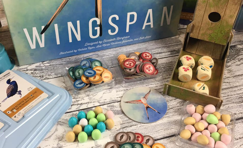 Wingspan Board Game Review - Components