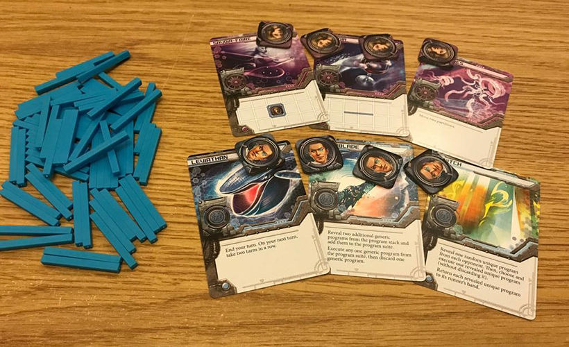 Android Mainframe Review - Cards and tokens