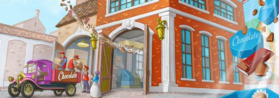New to Kickstarter – Chocolate Factory