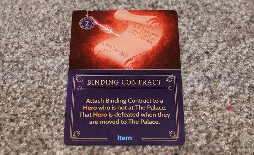 Disney Villainous - Binding Contract