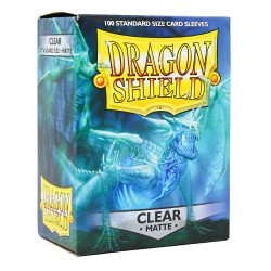 Dragon Shield Matte - Clear (100 ct. in box)