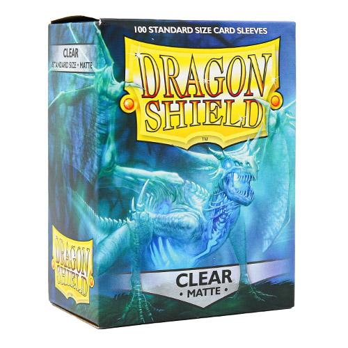 Dragon Shield Matte – Clear (100 ct. in box)