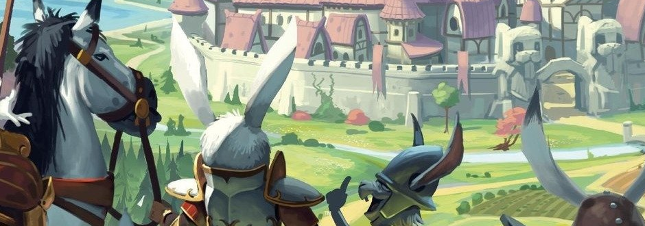 Games for Two that Scale Up Well - Bunny Kingdom