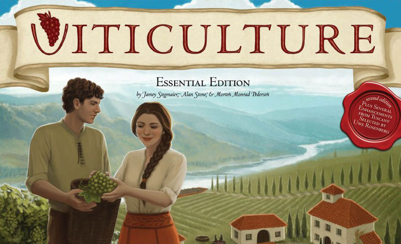 Games for Two that Scale Up Well - Viticulture