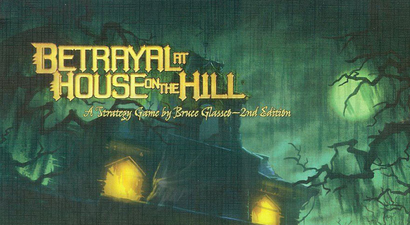 Games of the Month - January 2019 - Betrayal at House on the Hill