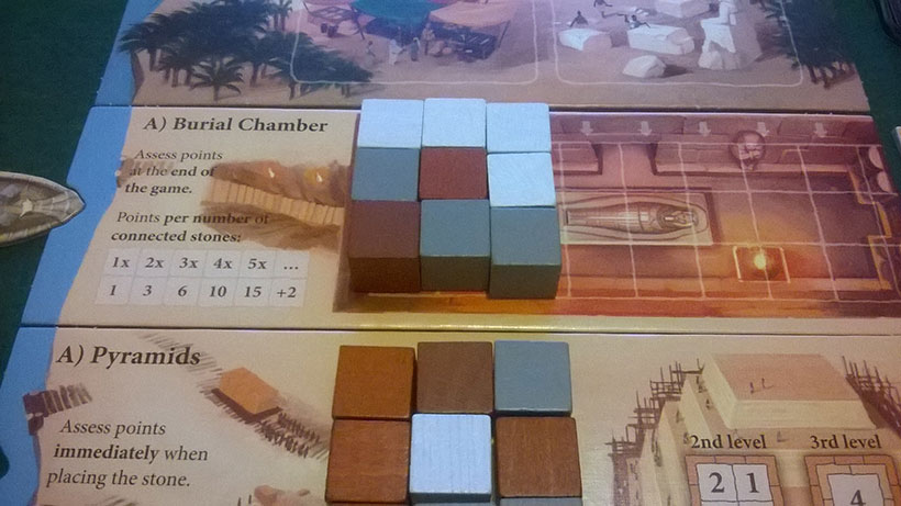 How to Play Imhotep - A Side Burial Chamber