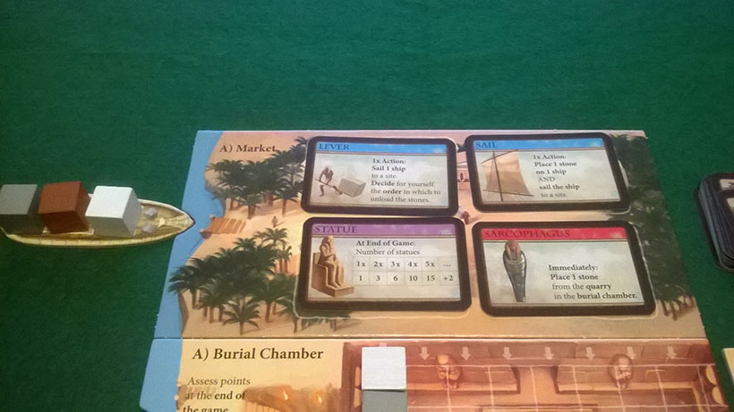 How to Play Imhotep - A Side Market