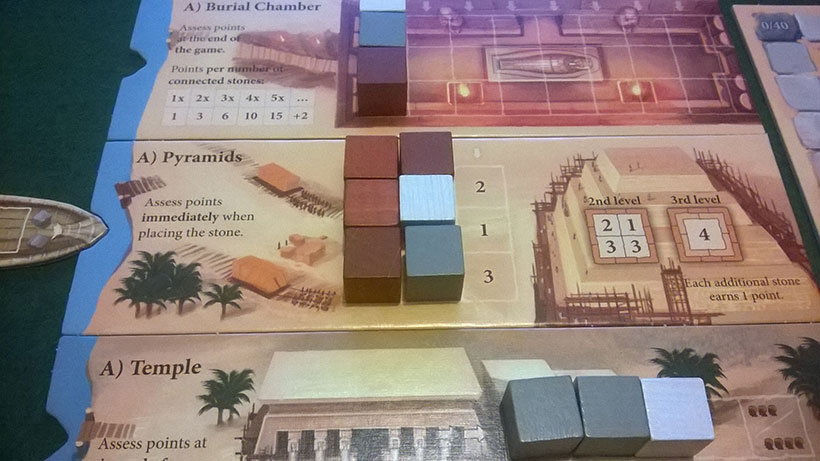 How to Play Imhotep - A Side Pyramid