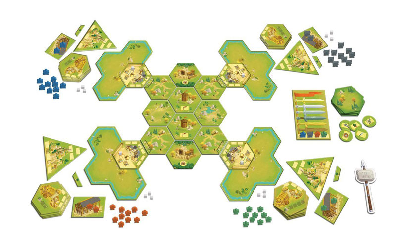 Meeple War Review - Game Layout