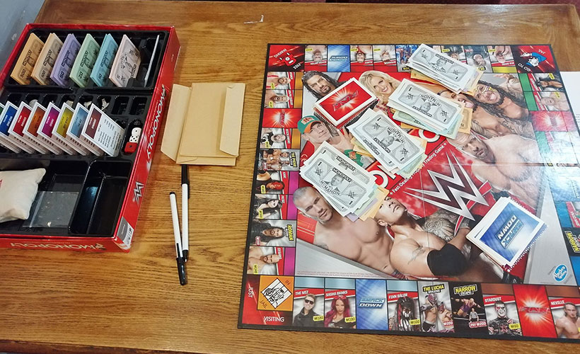 Monopoly Tournament - WWE Edition