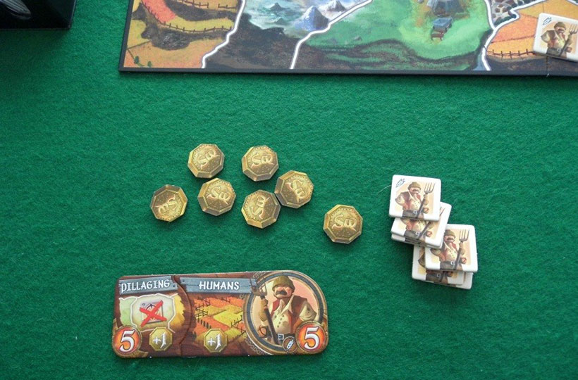 Small World - Races, Powers and Tokens
