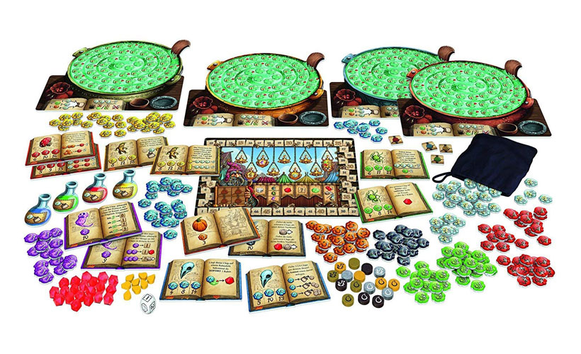 The Quacks of Quedlinburg Review - Game Components