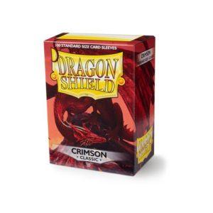 Dragon Shield Classic - Crimson (100 ct. in box)