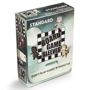 Board Game Sleeves Non Glare- Standard (fits cards of 63x88mm)