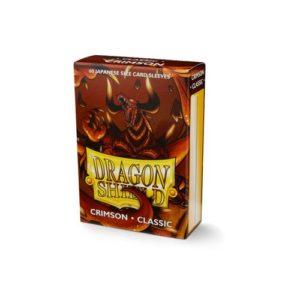 Dragon Shield Japanese Classic Crimson (60)- Classic In Box