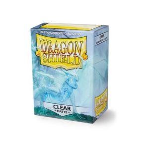 Dragon Shield Matte - Clear (100 ct. in box)