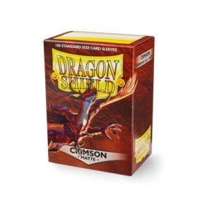 Dragon Shield Matte - Crimson (100 ct. in box)