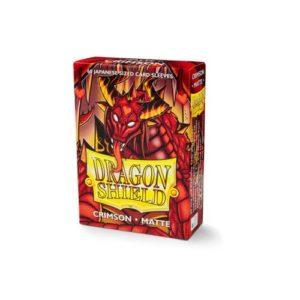 Dragon Shield Matte Japanese size - Crimson (60 ct. In box)