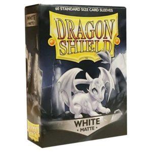 Dragon Shield Matte- White (60 ct. in box)