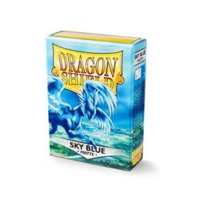 Dragon Shield Matte- Sky Blue (60 ct. in box)
