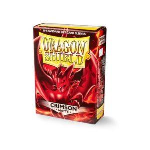 Dragon Shield Matte- Crimson (60 ct. in box)