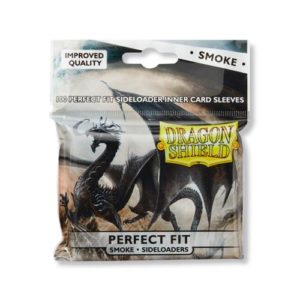 Dragon Shield Perfect Fit Sideloaders - Smoke (100 ct. In bag)
