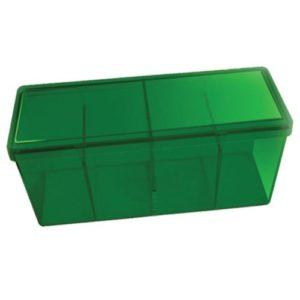 Dragon Shield Storage Box w. 4 compartments - Green
