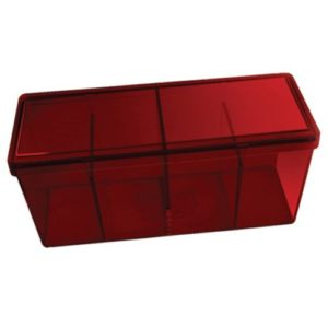 Dragon Shield Storage Box w. 4 compartments - Red
