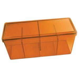 Dragon Shield Storage Box w. 4 compartments - Orange