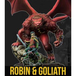 Batman Miniature Game: Robin & Goliath