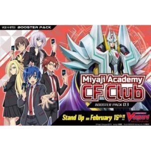 Cardfight Vanguard: Miyaji Academy CF Club Booster Box