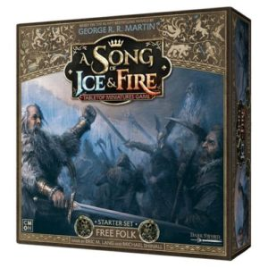 A Song of Ice and Fire: Free Folk Starter Set Core Box