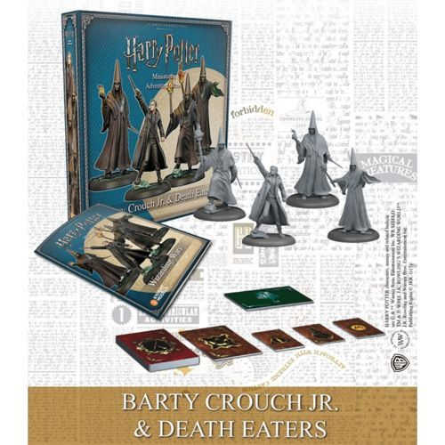 Barty Crouch Jr & Death Eaters Exp Harry Potter Miniatures Adventure Game (HPM)