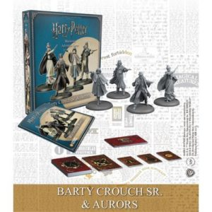 Harry Potter Miniatures Adventure Game: Barty Crouch Sr & Aurors Expansion (HPM)