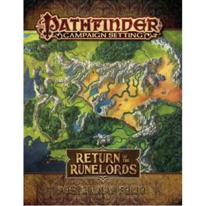 Pathfinder RPG: Return of the Runelords Poster Map Folio Campaign Setting