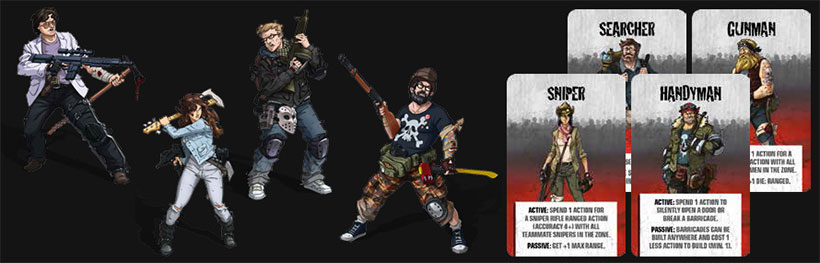 Zombicide Angry Neighbors Review - New Survivors