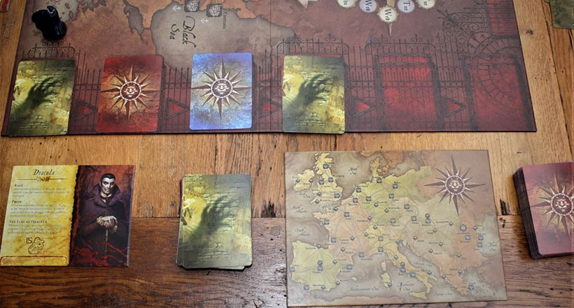Fury of Dracula - Game Components