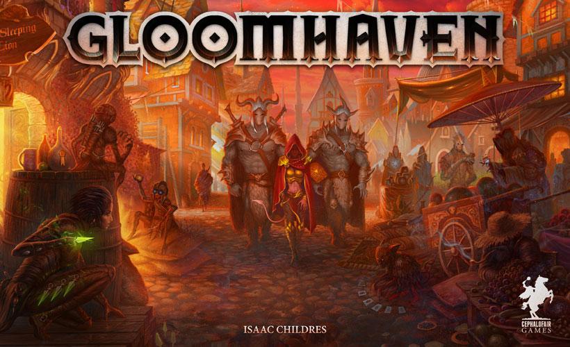 Kickstarter Pledge - Gloomhaven