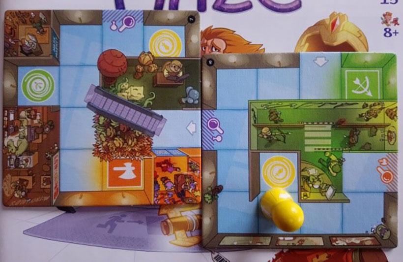 Magic Maze Escalators