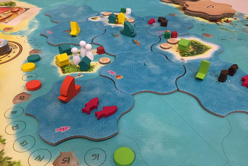Modular Game Board of Vanuatu