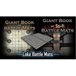 Giant Book of Sci Fi Battle Mats
