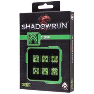 Q-Workshop Shadowrun Decker 6D6 Dice Set
