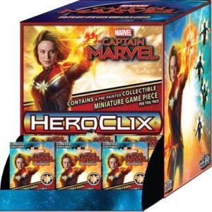 Marvel HeroClix: Captain Marvel Movie Gravity Feed