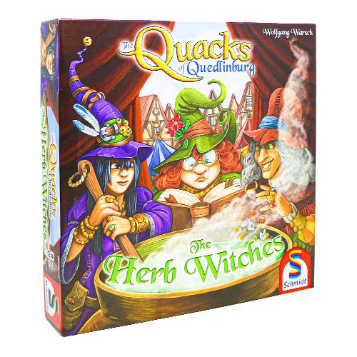 Quacks of Quedlinburg- Herb Witches