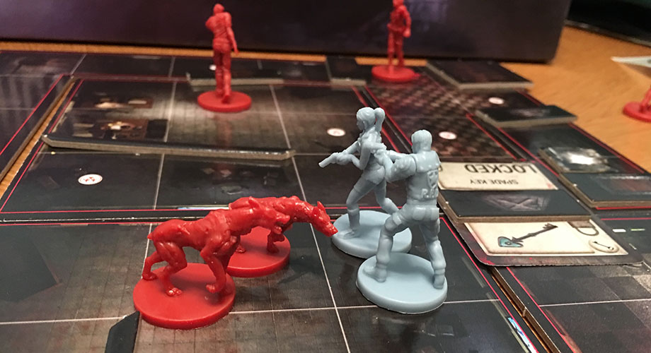 Resident Evil 2: The Board Game - Cerberus Miniatures