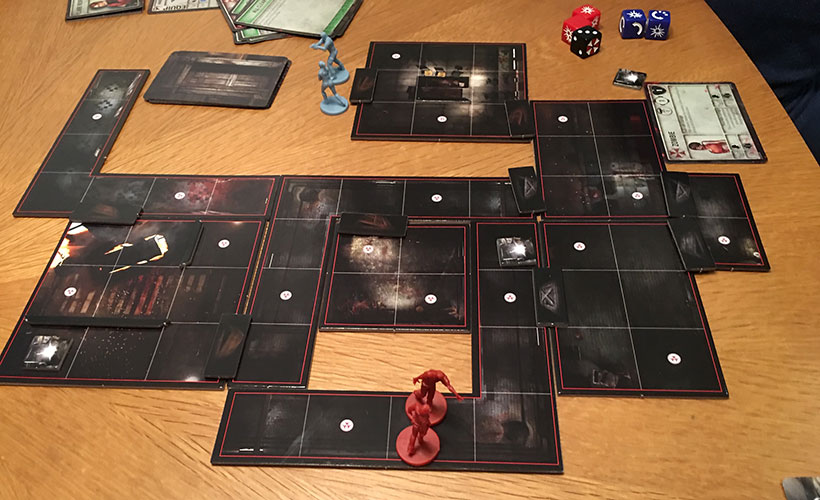 Resident Evil 2: The Board Game - Layout and Components